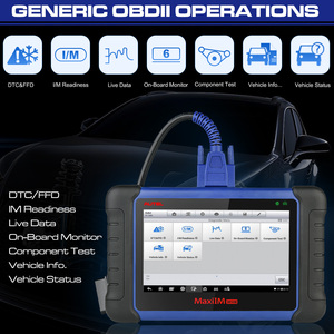 Image 3 - Autel MaxiIM IM508 OBD2 סקאניה רכב אבחון אוטומטי סורק מנוע כלי ECU XP200 מפתח תכנות מקצועי רכב סורק