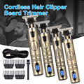 Электрическая машинка для стрижки волос T9, мужской триммер для волос, Профессиональная парикмахерская бритва, триммер, машинка для стрижки ...