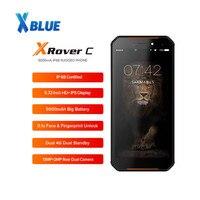 LEAGOO-teléfono inteligente XRover C IP68, Smartphone 4G LTE con pantalla IPS de 5,72 pulgadas, 2GB de Ram, Rom 16GB de, cámara de 13MP, NFC, batería de 5000mAh, reconocimiento de huella facial