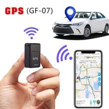 Minirastreador magnético GF07 GSM para coche, dispositivo de seguimiento para vehículo, camión, GPS, antipérdida, Control por voz