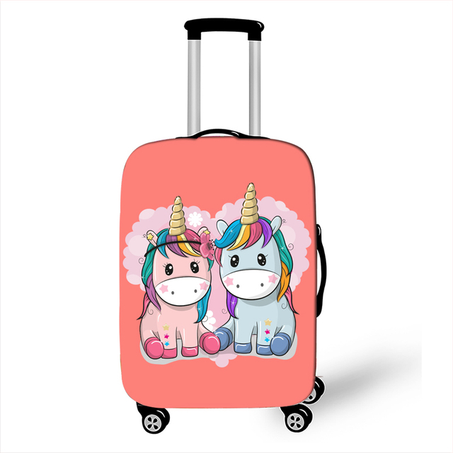 18//19//20 Multi-Color Trolley case Universal Wheel Luggage Size : 20, Style : Q Wulianshangmao Trolley case Cartoon Travel Trolley case