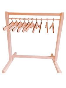 1/6 bjd got7 exo doll use wooden wardrobe wood coat rack