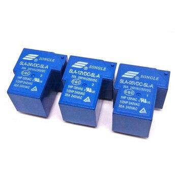 цена на Power Relay SLA-05VDC-SL-A SLA-12VDC-SL-A SLA-24VDC-SL-A SLA-48VDC-SL-A 5V 12V 24V 48V 30A 5PIN T90