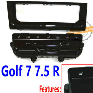 Image 2 - LCD touch screen automatic air conditioning panel Automatic AC conditioning switch for MQB Golf 7 Golf 7.5