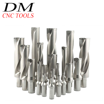 WC-16-5D-C25/WC-24-5D-C25/WC-26-5D-C32/WC-27.5-5D-C32/WC-30-5D-C32/WC-50-5D-C40 U Drilling Shallow Hole indexable insert drills фото