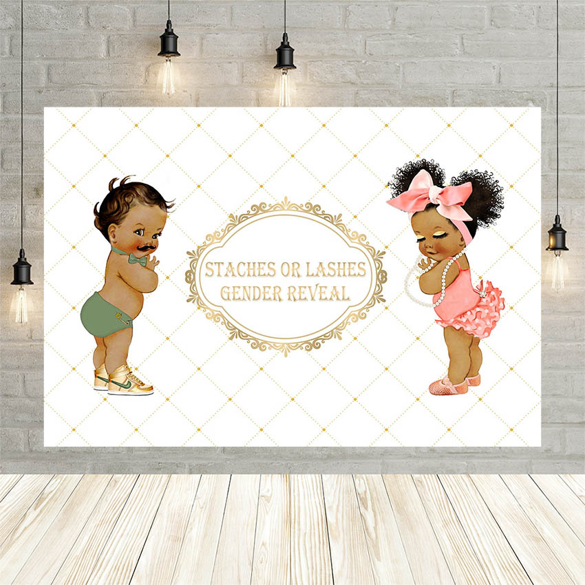 Avezano Boy Girl Newborn Balloon Crown Golden Baby Shower Birthday Decor Backdrop Photo Background Custom Photography Studio