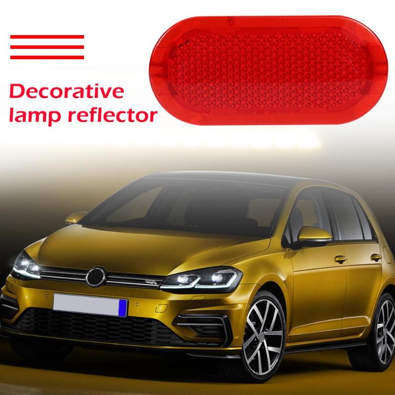 For Beetle Caddy Polo Touran Car Interior Door Trim Panel Reflector 6Q0947419  Red Appearance Fit for VW Touran 2006-2015
