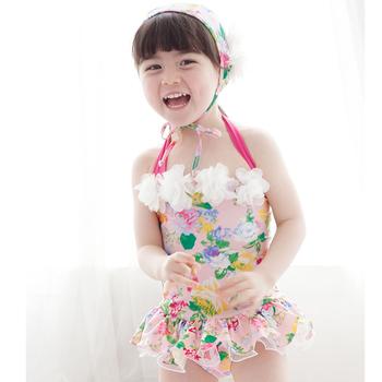 Gorący sprzedawanie Bikini dziewczęce zestaw dziecięcy strój kąpielowy dziewczęca sukienka sukienka niemowlęca strój kąpielowy dla dzieci plaża strój kąpielowy tanie i dobre opinie Pasuje mniejszy niż zwykle proszę sprawdzić ten sklep jest dobór informacji Cartoon BJN2 W połowie pasa spandex
