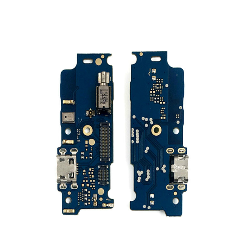 New For <font><b>Motorola</b></font> MOTO <font><b>E4</b></font> <font><b>XT1762</b></font> XT1772 USB Charging Port Dock Connector Charging Port Board Flex Cable Repair Parts image