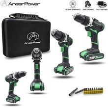 Elektryczna wiertarka bezprzewodowa, 25 V, 21 V, 16 V, 12 V, Plus, podwójna prędkość, ręczna, mini, śrubokręt, na akumulator litowy