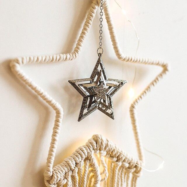 Фото из горного хрусталя гобелен с изображением звезд гостиная украшения цена