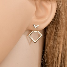 2020 Zinc Alloy Geometric Women Sale Real Oorbellen Pendientes Brincos Earings Fashion Metal Temperament And Accessories wholesale and retail military medals hot sale zinc alloy carving medal
