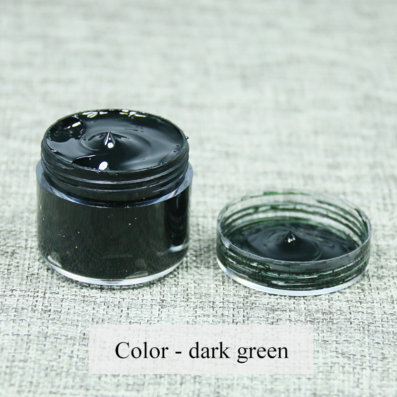 US $4.92 18% OFF|Leather Paint Shoe Cream Coloring in Bag Sofa Car Seat  Scratch 30ml Dark Green Leather Dye Repair Restoration Color Change  Paint-in ...
