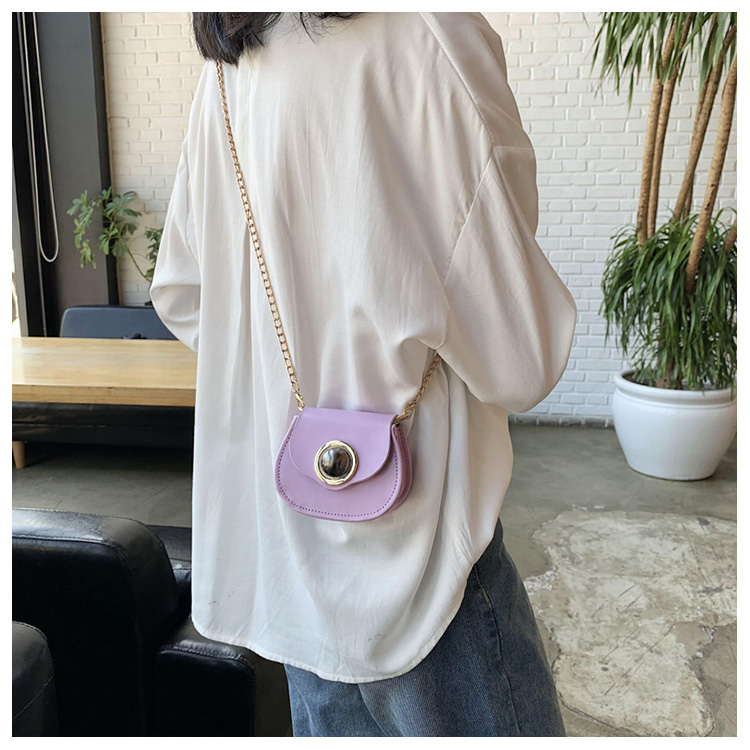 Mini Fashion Pu Soild Color Saddle Bags For Women Small Bag Leather Handbags And Lady Shoulder Bags Cross Body Bag (7)