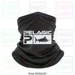 Frete grátis pelágico pesca aquática bandana novidade preto unissex algodão s 3xl ne bandana lenço pescoço mais quente