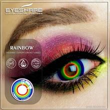 EYESHARE – lentilles de Contact colorées Halloween 365 jour, 1 paire, Cosplay, pour les yeux