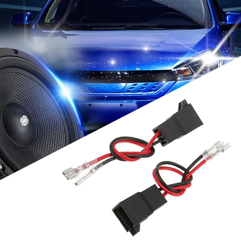 2 Pcs Car Audio Speaker Wiring Harness Adapter Connector PC2-805 For Audi Renault Nissan VW Etc ABS Plastic Car Audio Accessory