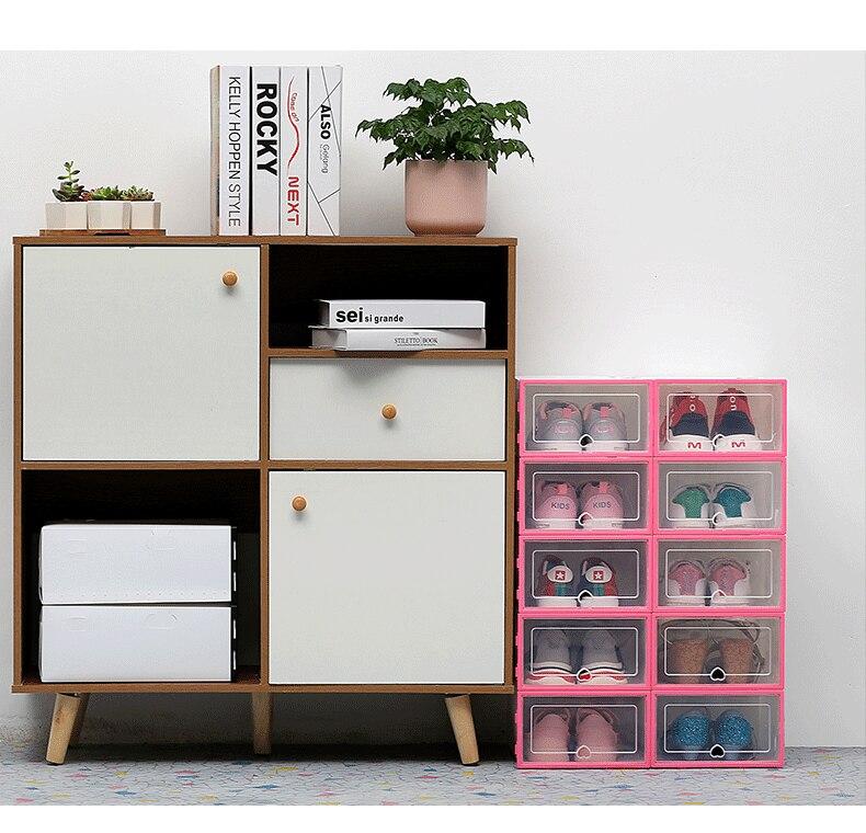 ser empilhada combinação sapato armário sapato organizador
