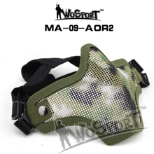 Wosport 2019 NEW Tactical Air Field Equipment V1 Wire With Camouflage Military Fighter Cs Mask Universal Men