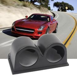 Uniwersalny 2 Cal 52mm samochód podwójny otwór Dashboard Gauge Pod uchwyt samochodowy carros wnętrze nowe gorące akcesoria