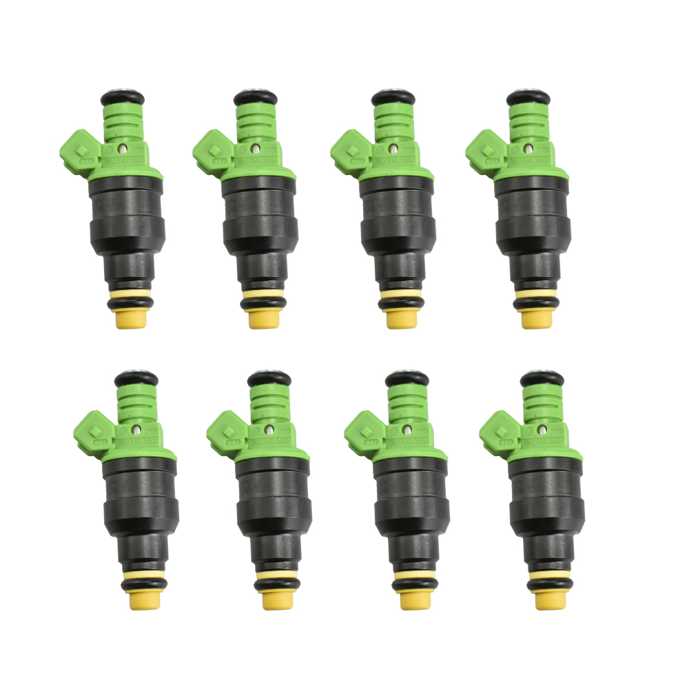 8pcs/lot Universal Car Auto Fuel Injector 0280150558 High Performance 440cc Gas Injectors For For BMW 330i 2001-2005