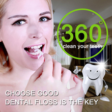Зубная нить 50 молния Pocketed Macromolecule зубная нить для удаления зубной нити