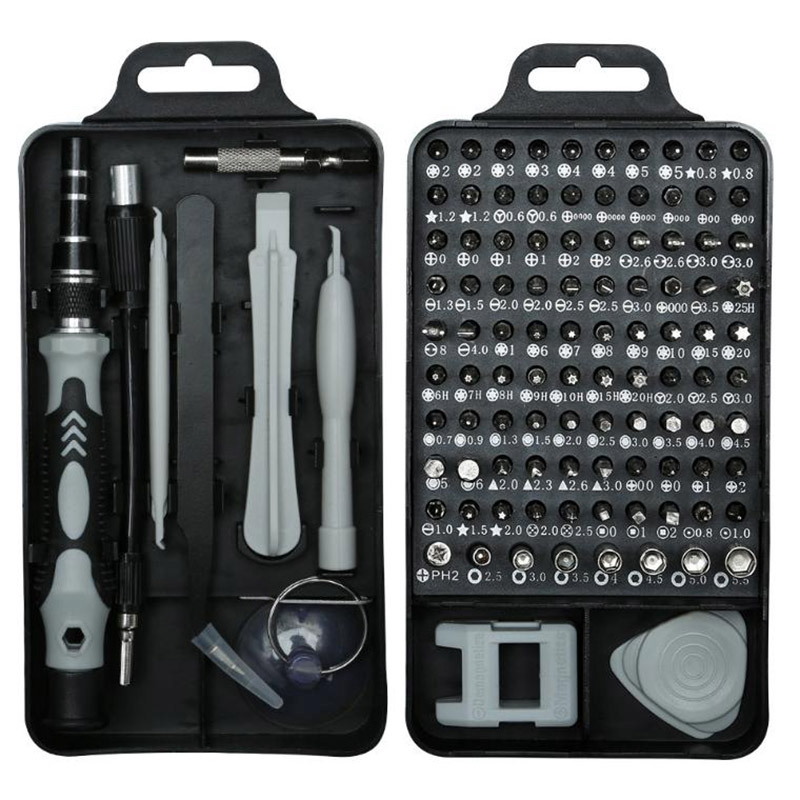 115 In 1 Screwdriver Set Mini Electric Precision Screwdriver For Iphone Huawei Tablet Ipad Home Tool Set