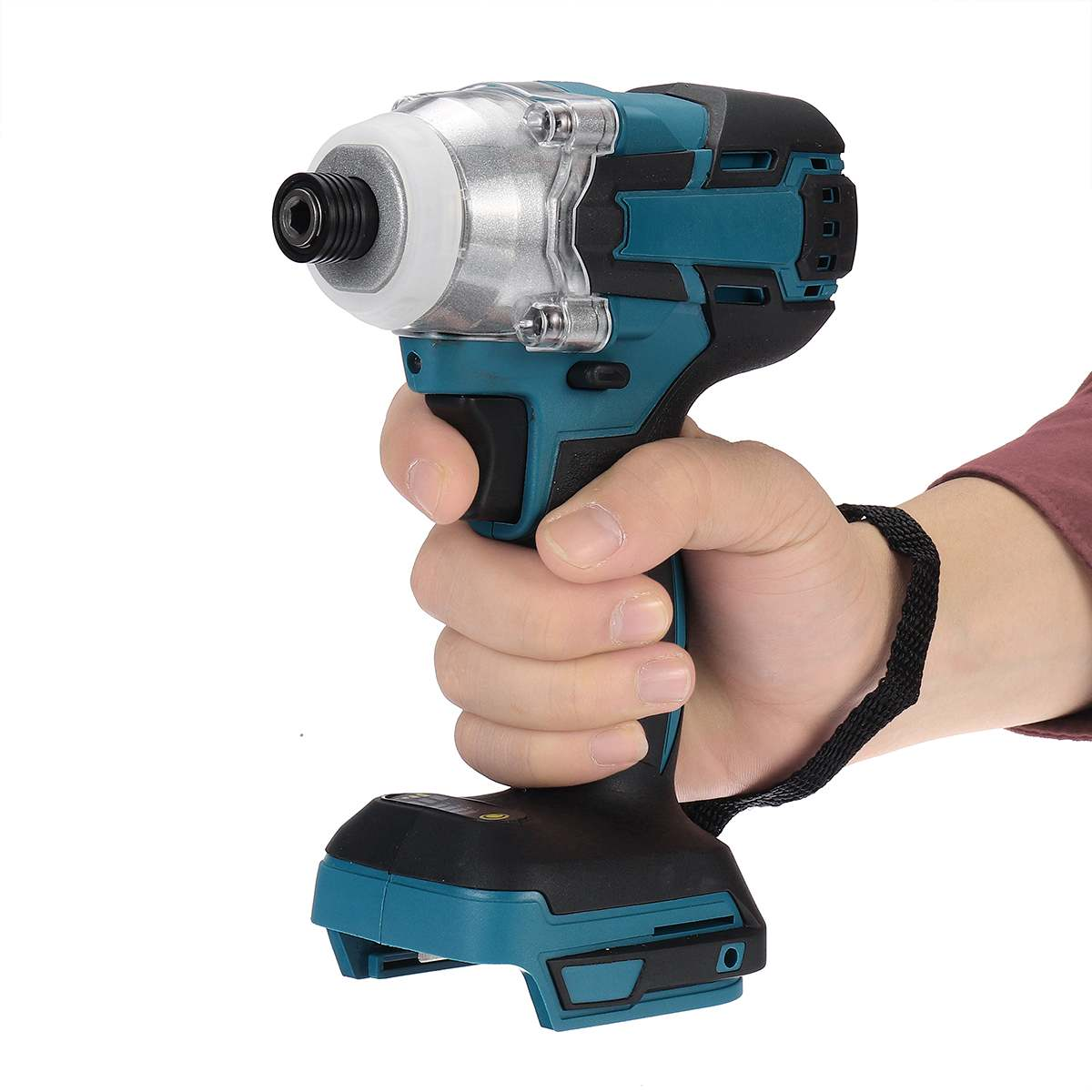 18V 520 N.m Cordless Electric Screwdriver Speed Brushless Impact Wrench Rechargable Drill Driver LED Light For Makita Battery
