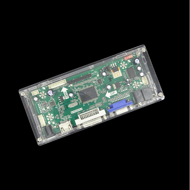 LED/LCD Display Controller Board Transparent Plastic Protective Case For Our TV/M.NT68676/EDP/2AV Controller Driver Motherboard