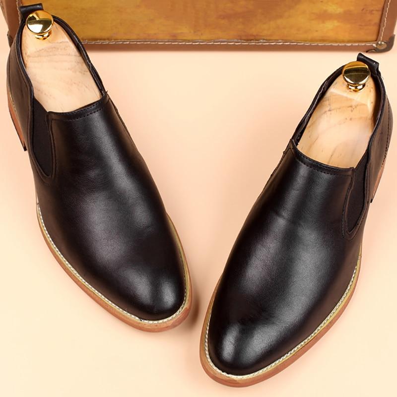 Genuine Leather Classic Business Men