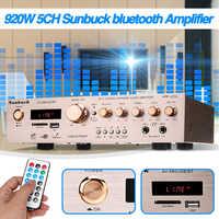 920W 220V 5CH bluetooth HiFi Stereo AV Surround Amplifier FM Karaoke Cinema Home Home Theater Amplifiers