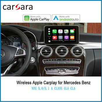 Merce des NTG5.0 5.1 5.2 System Wireless CarPlay Android Auto AirPlay Phonelink Box for A CLA GLA B GLC CLS E GLK G ML SLK Class image