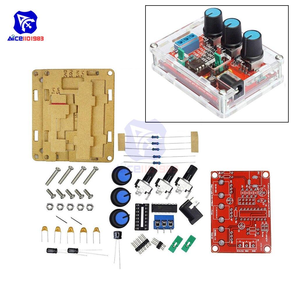 XR2206 DDS Function Signal Generator DIY Kit Sine Triangle Square Wave 1HZ-1MHZ
