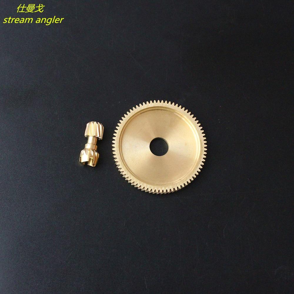 Fluted Disc And Pinion Gear 6.3:1 For Tatula CT SV TW CS 2019 Tatula 150 Wheel Accessories