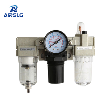AC2000-02 AC3000-02 FRL air source treatment unit oil lubricator Pneumatic smc air pressure regulator air filter regulator ac2000 02 g1 4 standard type air source treatment unit pneumatic lubricator filter regulator