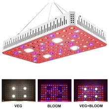 Qkwin FUNCOB Plant LED GROW LIGHT 2000W with double chip leds dual LENS for high par value