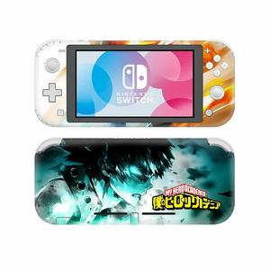 Image 2 - NintendoSwitch Skin Sticker My Hero Academia Decal Cover For Nintendo Switch Lite Protector Nintend Switch Lite Skin Sticker