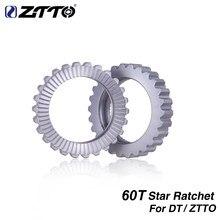 ZTTO 60T звезда трещотка велосипедный концентратор сервисный комплект MTB 18T 36T 54T зубцы для DT wheel group SWISS Горный Дорожный велосипед Шестерня ступи...