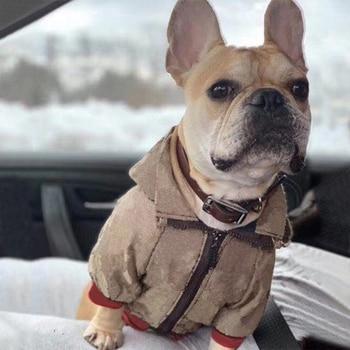 Embroidery Dog Jacket
