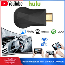 HDMI جهاز دونجل للعرض مزود بخاصية wifi لجوجل Chromecast 2 3 الكروم Crome الصب Cromecast 2 يوتيوب نيتفليكس البث Miracast جهاز استقبال للتليفزيون