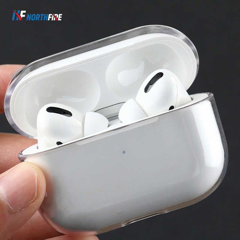 Nieuwe Clear Hard Case Pc Voor Airpods Pro Case Draadloze Bluetooth Voor Apple Airpods Pro Case Cover Oortelefoon Case Voor air Pods Pro 3