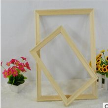 High Quality Wooden Frame Stretched Woodframes Home Decoration for Hand Oil Print Painting On Canvas Framed Pictures(China)
