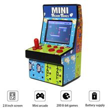 8 bit Retro game console  educational toys mini arcade handheld game console support single rocker for NES game console цены онлайн