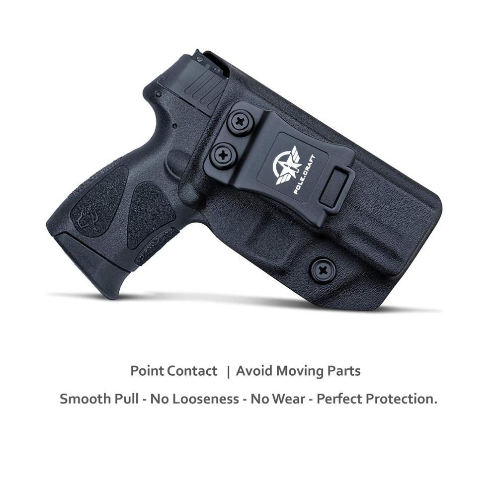 Concealed  PT111 Pistol IWB Taurus   Carry  For G2  PT140 G2C  Millennium  Kydex  Gun 9mm 40 Inside Waistband Holster  G2S G3C
