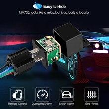 Mini GPS Tracker Fahrzeug Tracker Auto MV730 Design Schnitt Kraftstoff Schock Tow Alarm GPS Moto ACC Erkennung Relais Auto tracker