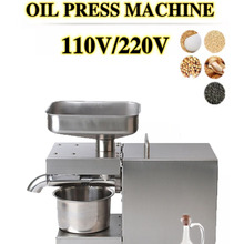 Sunflower-Seeds Oil-Machine Oil-Press-Extract Olive Automatic 1500W 110V/220V