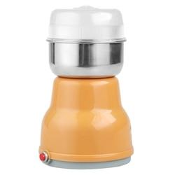 XMX elektryczny młynek do kawy ze stali nierdzewnej ziołowy młynek do ziarna domowy młynek do kuchni frezarka akcesoria do kawy E w Elektryczne młynki do kawy od AGD na