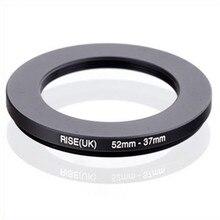 Original RISE (UK) 52mm 37mm 52 37 มม.52 ถึง 37 ขั้นตอนลงแหวนกรองอะแดปเตอร์สีดำ