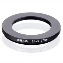 original RISE(UK) 52mm 37mm 52 37mm 52 to 37 Step Down Ring Filter Adapter black