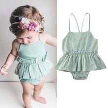 2020 Baby Romper Dress Newborn Baby Girl Clothes